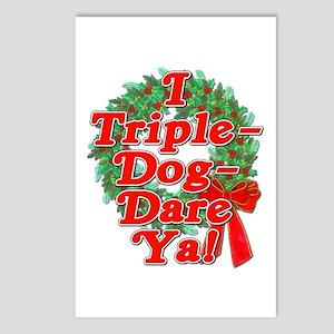 Triple Dog Dare A Christmas Story Postcards (Packa