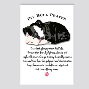Pit Bull Prayer Postcards (Package of 8)
