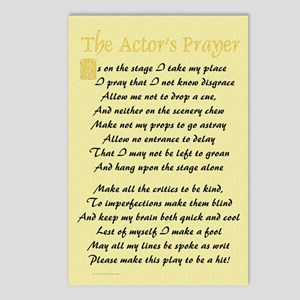 The Actor's Prayer Postcards (Package of 8)