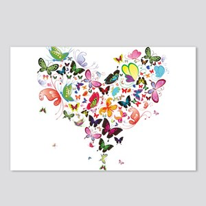 Heart of Butterflies Postcards (Package of 8)
