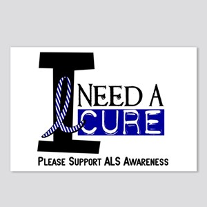 I Need A Cure ALS Postcards (Package of 8)