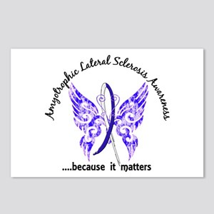 ALS Butterfly 6.1 Postcards (Package of 8)