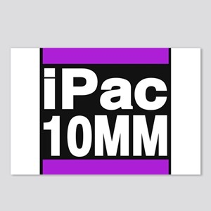 ipac 10mm purple Postcards (Package of 8)