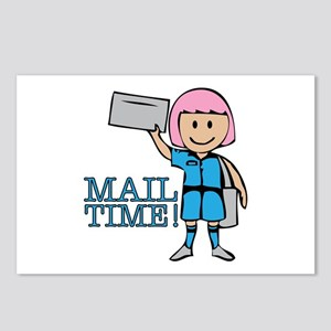 Mail Time Postcards (Package of 8)