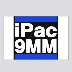 ipac 9mm blue Postcards (Package of 8)