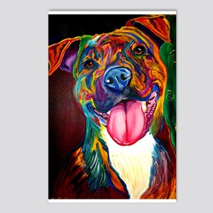 Pit Bull #7 Postcards (Package of 8)