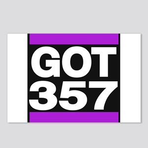 got 357 purple Postcards (Package of 8)