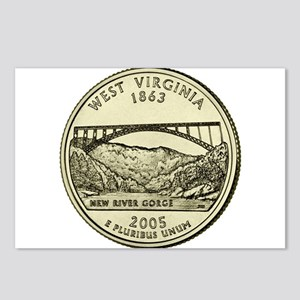 West Virginia Quarter 2005 Basic Postcards (Packag