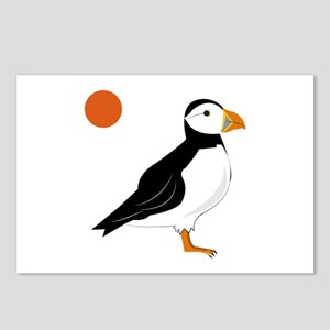 Puffin Bird Postcards (Package of 8)