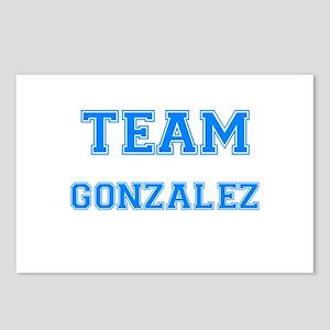 TEAM GONZALEZ Postcards (Package of 8)
