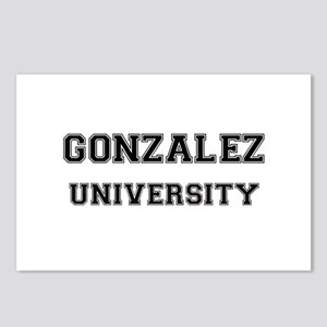 GONZALEZ UNIVERSITY Postcards (Package of 8)
