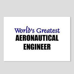 Worlds Greatest AERONAUTICAL ENGINEER Postcards (P