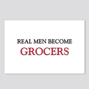 Real Men Become Grocers Postcards (Package of 8)