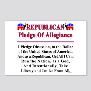 Republican Pledge Postcards (Package of 8)