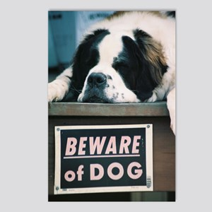 Beware of Dog Postcards (Package of 8)