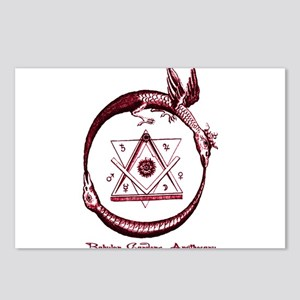 Alchemical Ouroboros Postcards (Package of 8)