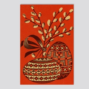 Vintage Russian Easter Card Postcards (Package of