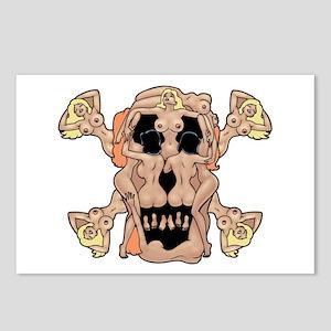 Nudie Pirate Postcards (Package of 8)