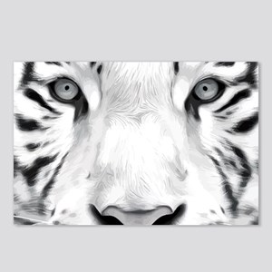Realistic Tiger Painting Postcards (Package of 8)
