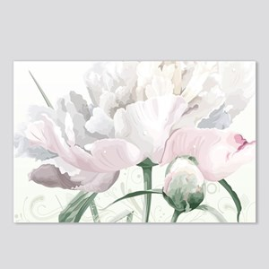Beautiful Peony Postcards (Package of 8)