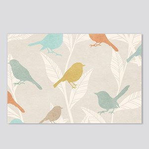 Pretty Birds Postcards (Package of 8)