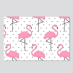 Cute Flamingo Postcards (Package of 8)