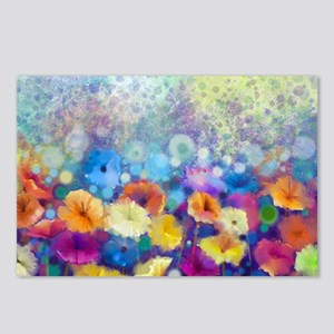Floral Painting Postcards (Package of 8)