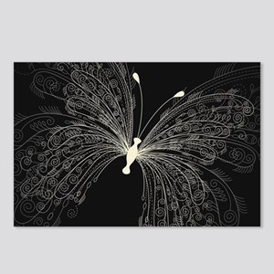 Elegant Butterfly Postcards (Package of 8)