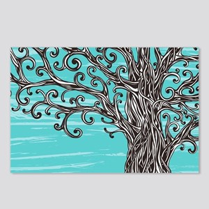 Decorative Tree Postcards (Package of 8)