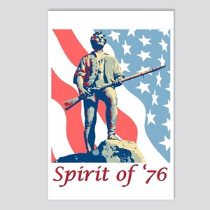 Spirit Of '76 Postcards (Package Of 8)