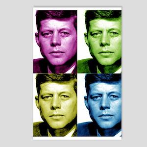 JFK John F. Kennedy Postcards (Package of 8)