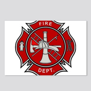 Fire Dept. Postcards (Package of 8)