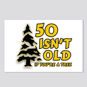 50 Isn't Old, If You're A Tree Postcards (Package