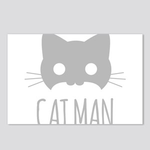 Cat Man Postcards (Package of 8)