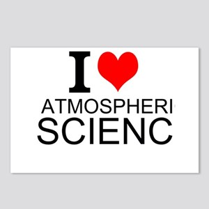 I Love Atmospheric Science Postcards (Package of 8