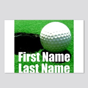 Golfball Postcards (Package of 8)
