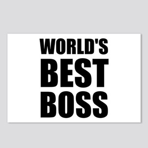 Worlds Best Boss 2 Postcards (Package of 8)