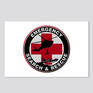 Emergency Rescue Postcards (Package of 8)