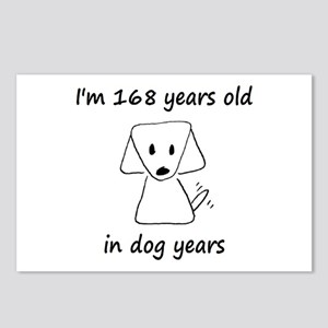 24 Dog Years 6-2 Postcards (Package of 8)
