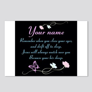 Personalize His Sheep Postcards (Package of 8)