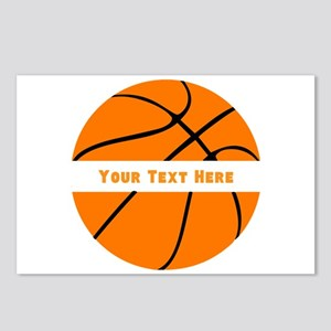Basketball Personalized Postcards (Package of 8)