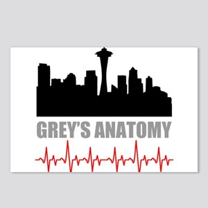 Grey's Anatomy Seatle Postcards (Package of 8)