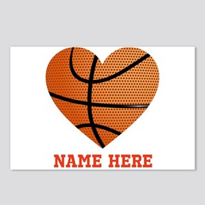 Basketball Love Personali Postcards (Package of 8)