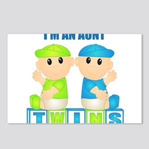I'm An Aunt (BBB:blk) Postcards (Package of 8)