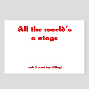 World's a Stage Postcards (Package of 8)
