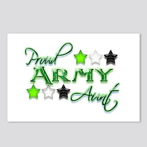 Army Star Aunt Postcards (Package of 8)