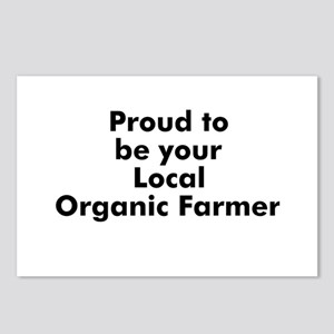 Proud to be your Local Organi Postcards (Package o