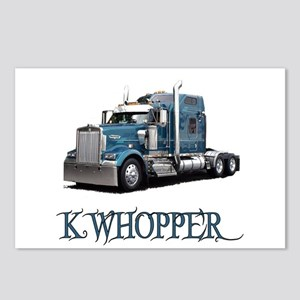 K Whopper Postcards (Package of 8)