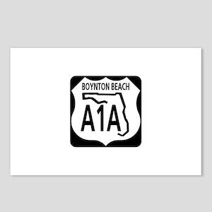 A1A Boynton Beach Postcards (Package of 8)