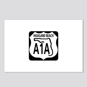 A1A Highland Beach Postcards (Package of 8)